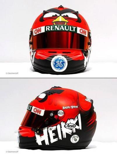 Angry Birds F1 Racing Helmet
