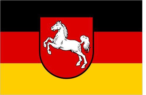 Flag Log: Lower Saxony, since 1951  Lower Saxony was formed...