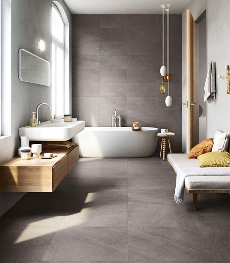 Die besten 25+ moderne Hauptbad Ideen auf Pinterest Badezimmer - badezimmer 50er jahre