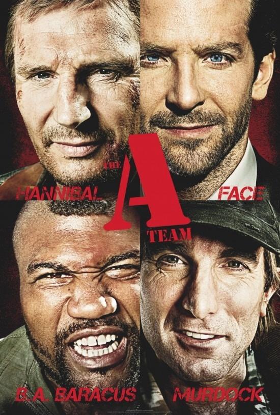 L'Agence tous risques - Liam Neeson - Bradley Cooper - Sharlto Copley - Quinton 'Rampage' Jackson
