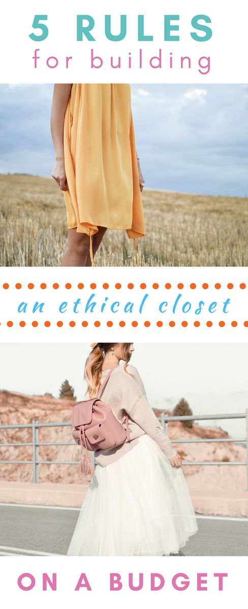 Shopping for ethical, sustainable clothes can be challenging an expensive. Here's how to make it easy, and shop ethically on a budget!