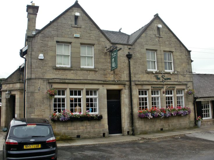 """The Swan at Heddon-on-the-Wall. We enjoyed a """"Carvery"""" buffet here."""