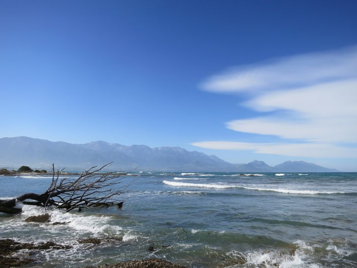 This is Kaikoura in New Zealand, where Miranda and Shaun went to see two of their best friends get married
