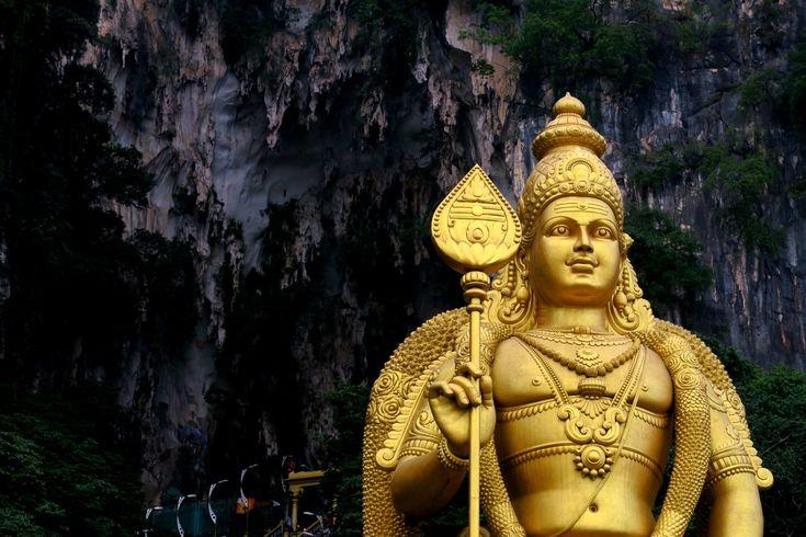 levik: Пещеры Бату около Куала Лумпура