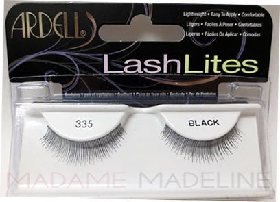 Ardell Lashlites 335 are ideal for everyday wear and are reusable. A great alternative to mascara!  #ArdellLashLites #MadameMadeline