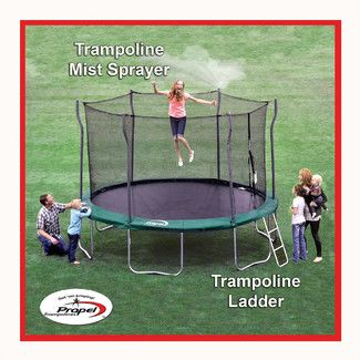 Simple Propel Trampolines Trampoline Ladder and Mister Kit Wayfair