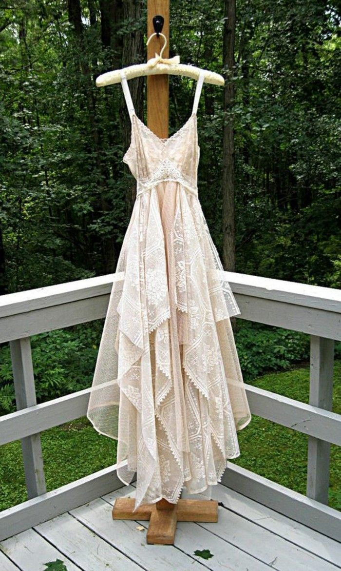 boho style wedding dresses the most fashionable trend for your party