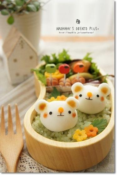 はんぺんコロンで白くまチャンのお弁当* by naohahaさん | レシピブログ ...