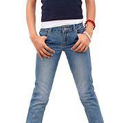 Джинсы незаменимы для всех, независимо от возраста. Классическая модель-стрейч из денима отлично подойдет всем девочкам. Регулируемый пояс до размера 146 и эластичный материал обеспечивают комфорт и свободу движений. Смело комбинируйте джинсы от CFL с любыми кофточками и пуловерами. Детали: 5 карманов, заниженная высота пояса. Материал: 98% хлопок, 2% эластан. за 2499р.- от Otto