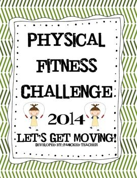 """Free Physical Fitness Challenge!! Encourage your students to get fit in 2014 with a Physical Fitness Challenge!  Students complete this as """"Physical Fitness Homework"""" and really get into it!!!! Includes a participation LOG, parent letter, and certificate."""