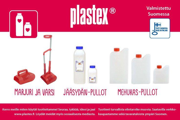 Tällä setillä on hyvä mennä marjastamaan!  Made in Finland With good Plastex products it is easy to get lots of blueberries!