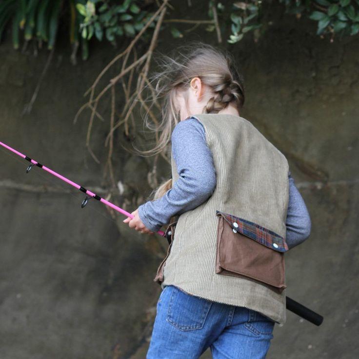 Children's Fisherman's Vest