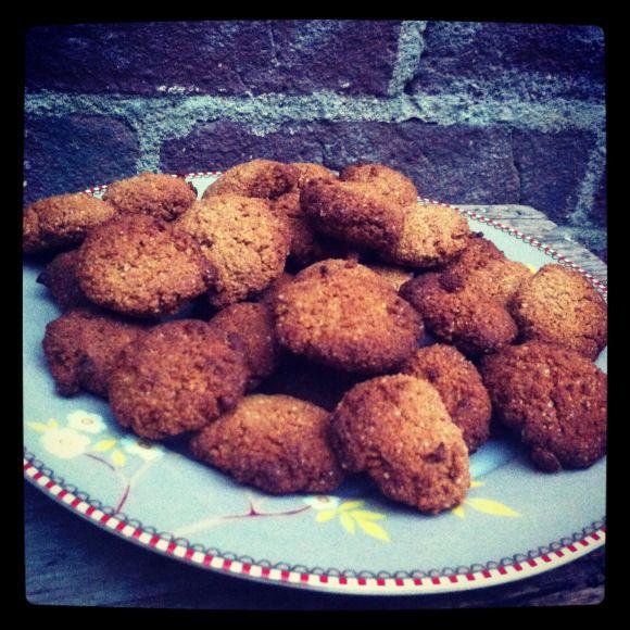 Paleo pepernoten (gingerbread cookies) recipe online!!