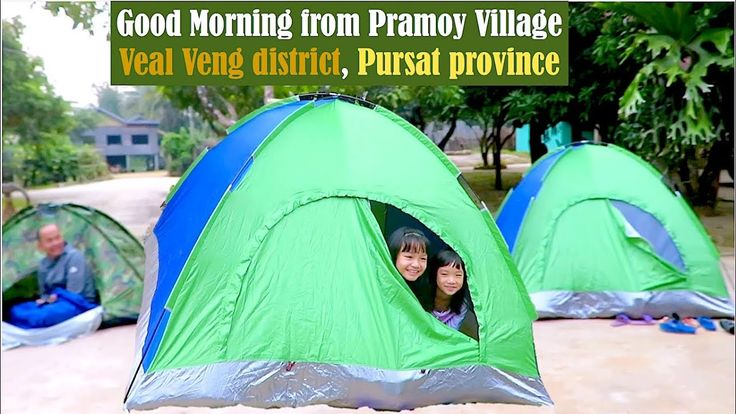 Good Morning from Pramoy Village at Veal Veng District in Pursat Provinc...