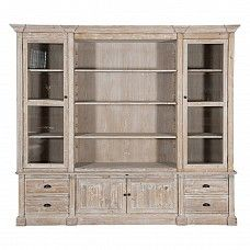 Bookcase with Doors and Drawers