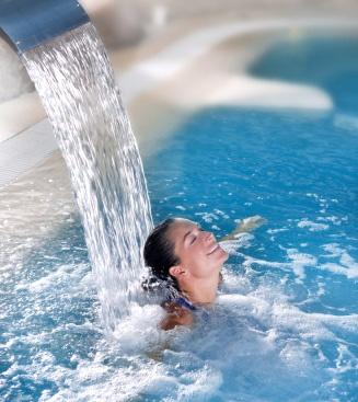 water massage.