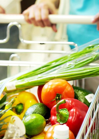 Great tips for eating well and spending less from @Katie Schmeltzer Goodman