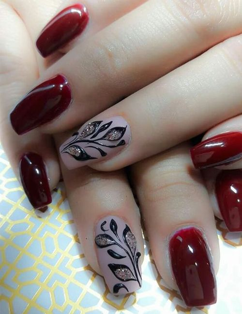 Trendy Red Hot Wedding Nail Art Designs That Will Get Amaze Everyone