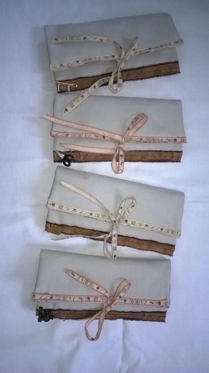 Sewing Kit fabric rolls