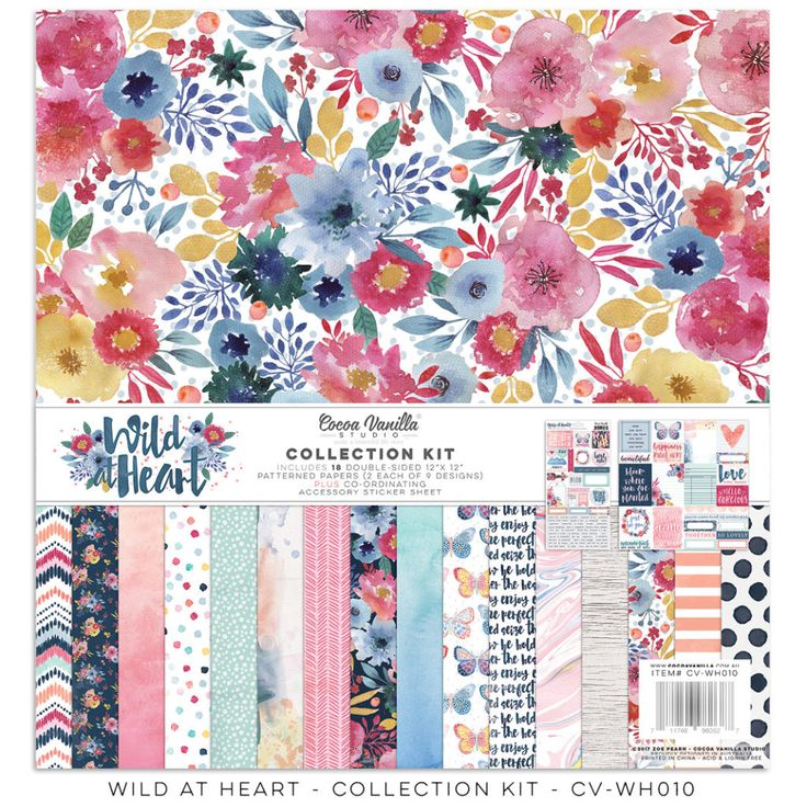Cocoa Vanilla Studio | Wild At Heart Collection - collection kit