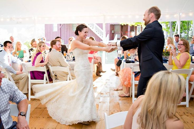 Share an upbeat first dance with your partner! Here are some great song options: - Happy by Pharrell Williams - Dancing in the Moonlight by Toploader  Which one is your favorite?  #mhosr #wedding #firstdance #pharrell #toploader #weddingdance #reception  Photo Credit: Lexi Lowell Photography