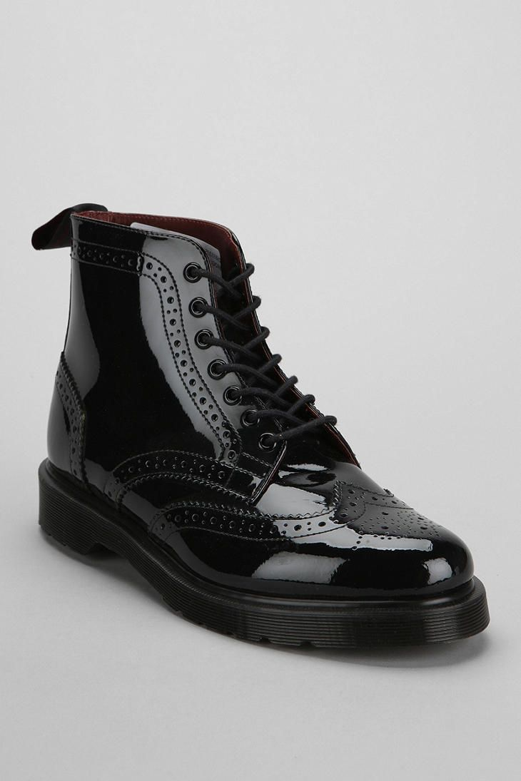 7ddc13306c9f39 Dr. Martens Affleck Brogue Patent Leather Boot