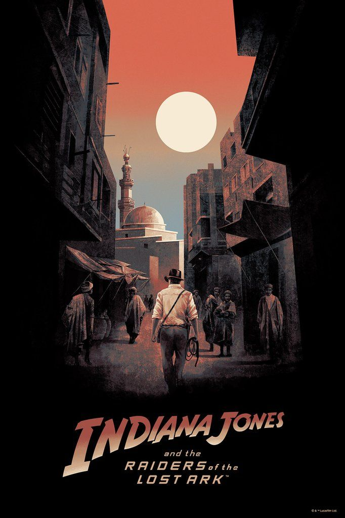 Striking Indiana Jones Poster From Bottleneck Gallery — GeekTyrant