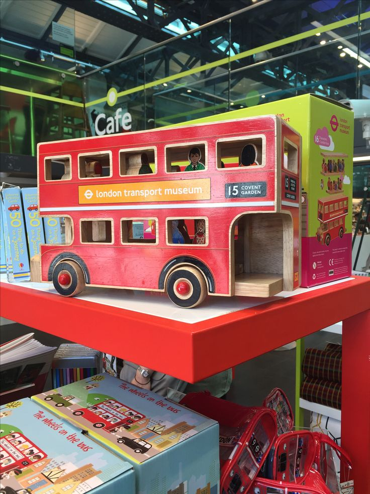 Love this London Bus in the London Transport Museum shop