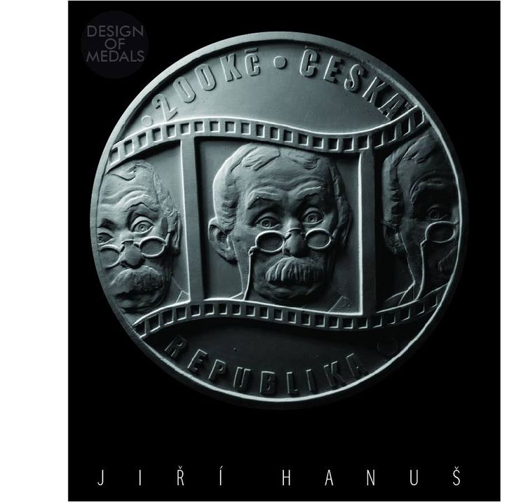 medal coin burian hanuš