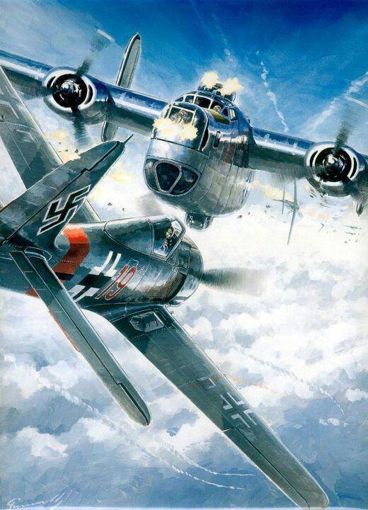Focke Wulf FW-190 vs Consolidated B-24 Liberator