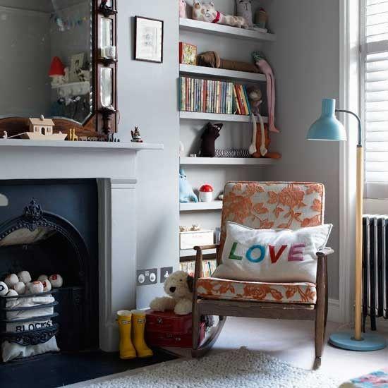 Modern grey living room   Living room designs   Armchair   Image   Housetohome.co.uk