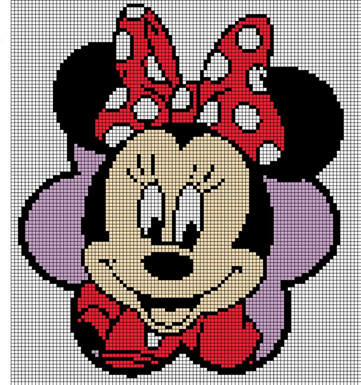 pixeldeken minnie