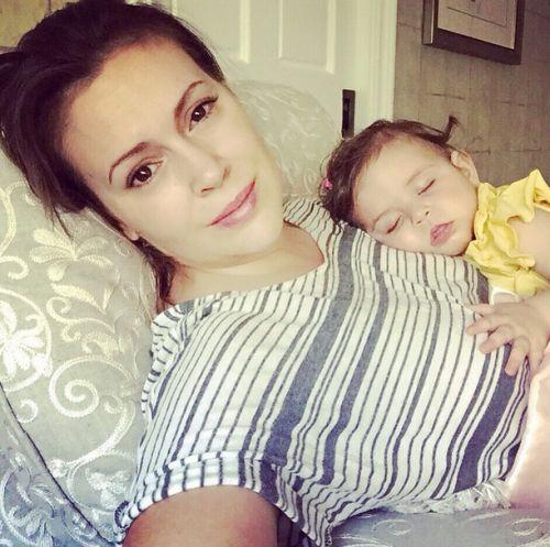 Alyssa Milano & Elizabella's Sunday Selfie
