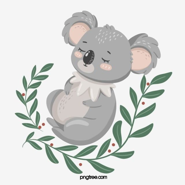 Hand Drawn Style Fresh Koala Element Koala Clipart Koala Animal Png Transparent Clipart Image And Psd File For Free Download Koala Cartoon Clip Art Animal Clipart