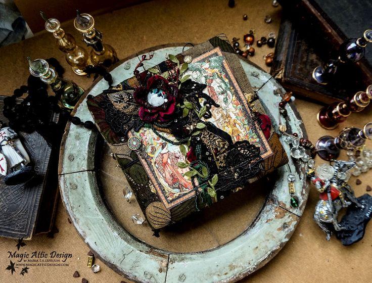 Album w średniowiecznym stylu od Marii / Medieval style album by Maria