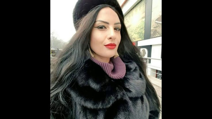 Woman In Black Fox Fur Part 3