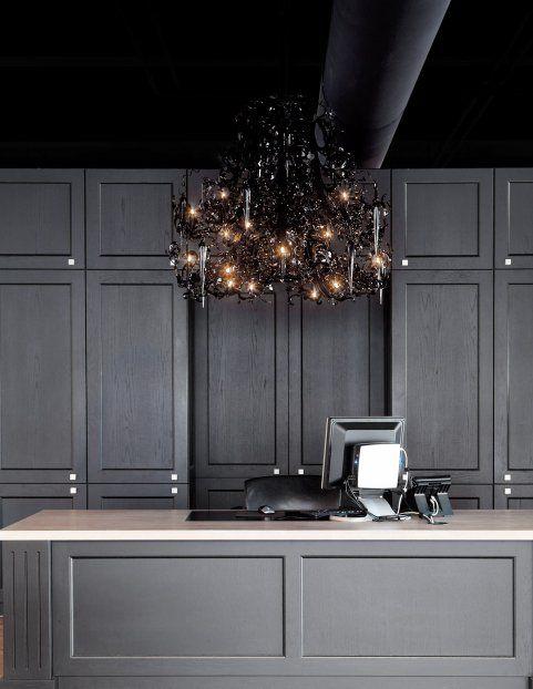 TWEEDE KAMER, STORE, NAARDEN, NL The leading kitchen supplier 'Tweede Kamer' uses several BRAND VAN EGMOND lighting pieces in the showroom.