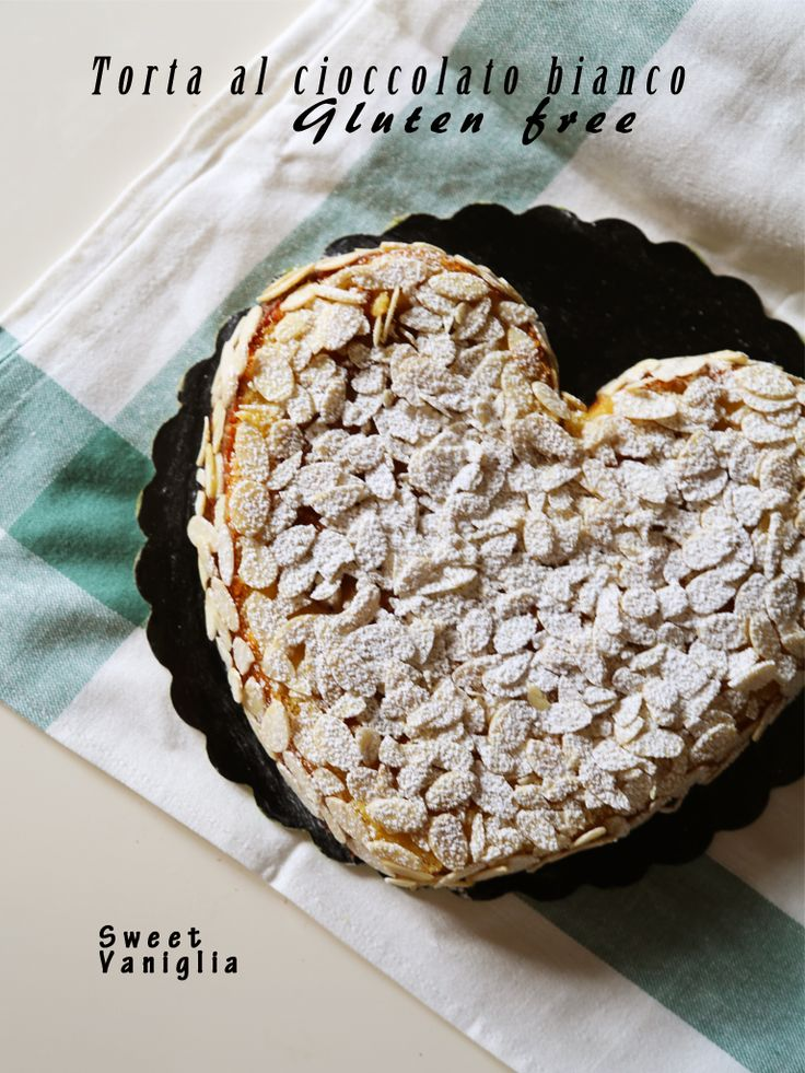Torta al cioccolato bianco gluten free