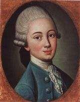 Jan Onufry Ossoliński 1760-1812. Portret namalowany około roku 1776. Oryginał w zbiorach Muzeum Narodowego we Wrocławiu