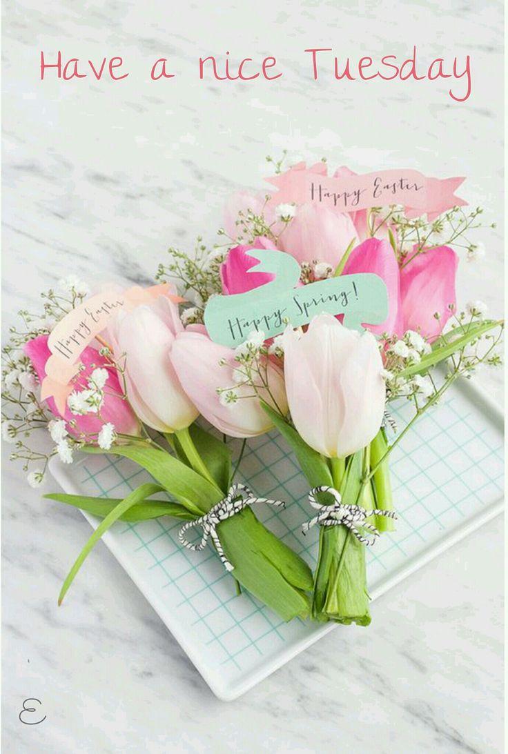 Bildergebnis für Tuesday with Spring flowers