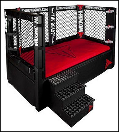 Throwdown MMA Cage Bed Childrens Furniture Sports Themed
