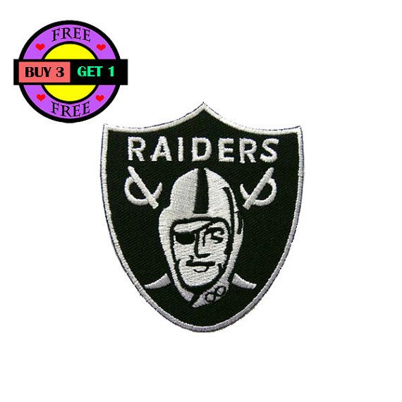 PRODUCT DETAILS:  Oakland Raiders Embroidered Iron On Patch Heat Seal Applique Sew On Patches  Size 2.6inches x 2.9 inches (approx.)  **Iron-On Instructions**  1. Spray water on back of patch 2. Place patch on garment 3. Set iron temperature on cotton 4. Cover patch with a piece of damp cloth 5. Iron for 10-15 seconds 6. Turn garment inside out and iron until dry  ****Buy With Confidence, We ship all packages within 1-2 days of payment by Thai Post With Tracking Number**** *****Combine…