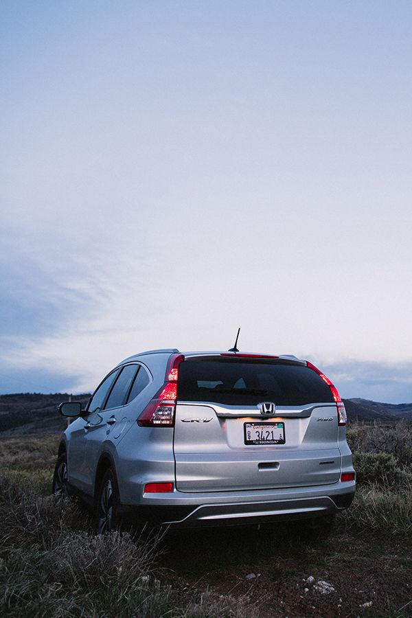 Your adventure starts now. Wander into nature with the confident and capable CR-V.  2016 Touring model shown.