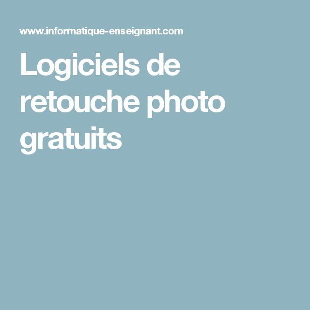Logiciels de retouche photo gratuits