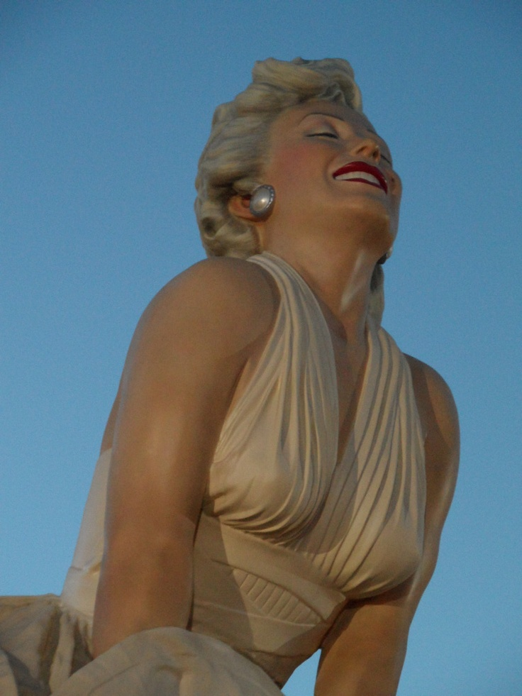 Forever Marilyn- Downtown Palm Springs, California
