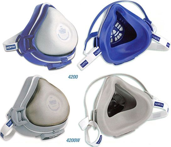 North CFR-1 Respirators | Anti pollution mask, Gas mask, Dust mask