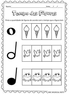 ATIVIDADES DE EDUCAÇÃO INFANTIL E MUSICALIZAÇÃO INFANTIL: musicalização