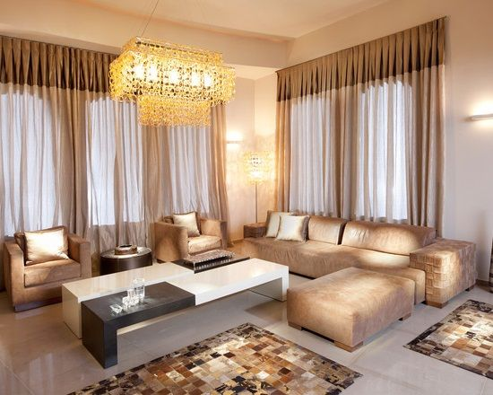 Elegant Living Room Interior Lighting Ideas With Best Curtains |  Curtaincrazy.com Part 55