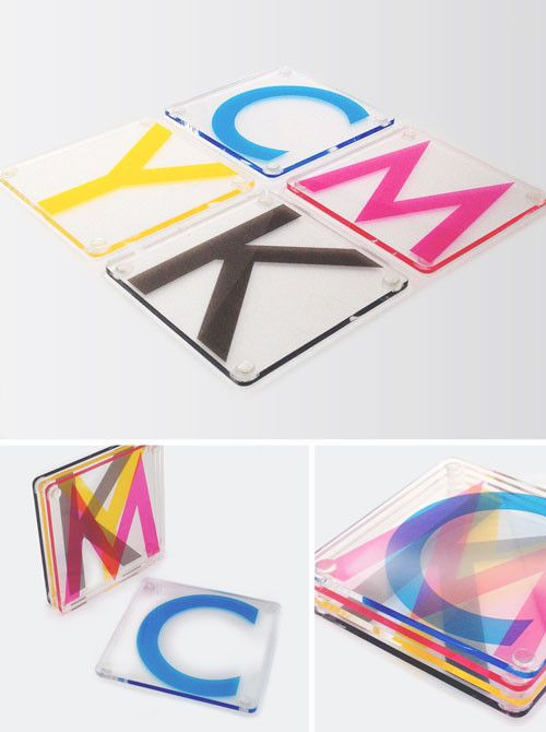 Pop Chart Lab --> Design + Data = Delight --> CMYK Printing Coasters