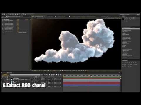 FumeFX_雲のマップ